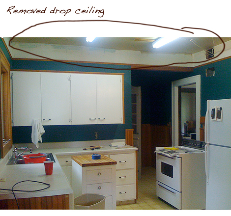 Drop Ceiling Kitchen Remodel | Boatylicious.org