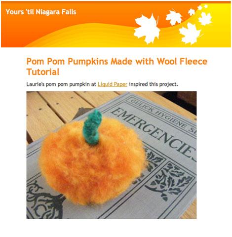 Felt-Pom-Pumpkin