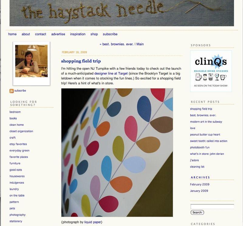 Haystackneedle